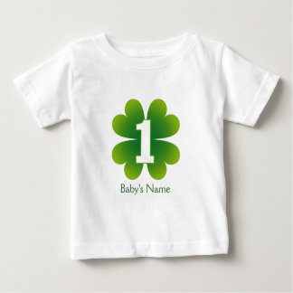 St. Patricks Day 1st Birthday Baby T-Shirt