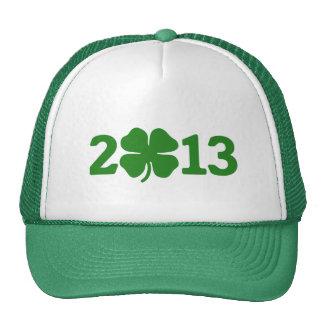 St Patricks Day 2013 Mesh Hat