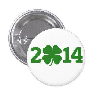 St Patricks day 2014 1 Inch Round Button