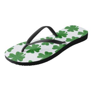 St. Patrick's Day Adult Slim Strap Flip-Flops Flip Flops