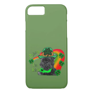 St Patrick's Day Affenpinscher iPhone 8/7 Case