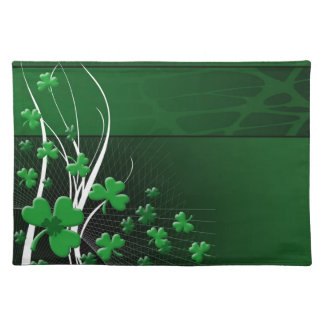St Patrick's Day American MoJo Placemat