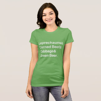 St. Patrick's Day Ampersand Design T-Shirt