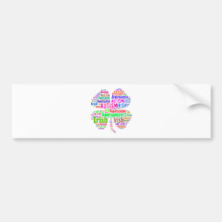 St. Patrick's Day Autism Awareness Products Bumper Sticker