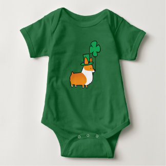 St Patricks Day Baby Bodysuit