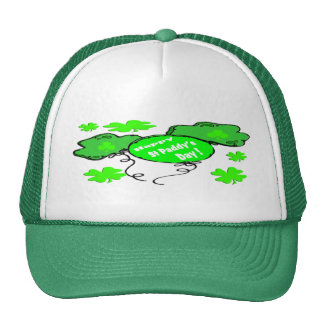 St Patrick's Day Balloons Trucker Hat