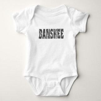 St Patricks Day Banshee Fun Joke Kids Shamrock Baby Bodysuit