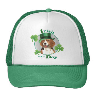 St. Patrick's Day Beagle Trucker Hat