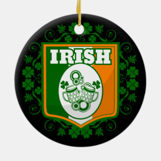 St Patrick's Day Beer Ceramic Ornament
