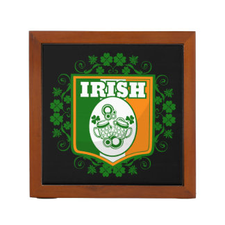 St Patrick's Day Beer Desk Organizer