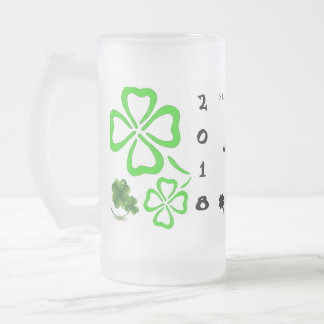 St Patrick's Day Beer Mug Template