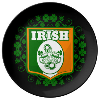 St Patrick's Day Beer Plate
