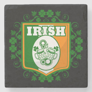 St Patrick's Day Beer Stone Coaster