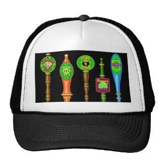St. Patrick's Day Beer Taps Trucker Hat
