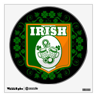 St Patrick's Day Beer Wall Decal