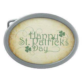 St. Patrick's Day Belt Buckle
