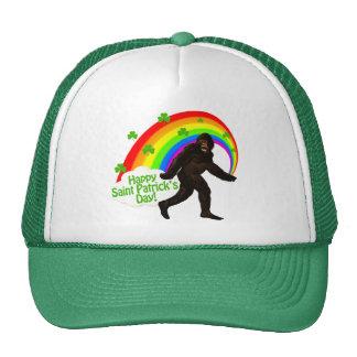 St. Patrick's Day Bigfoot Trucker Hat