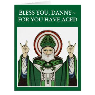St. Patrick's Day Birthday Big Greeting Card