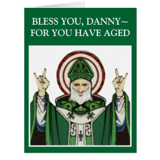 St. Patrick's Day Birthday Greeting Cards