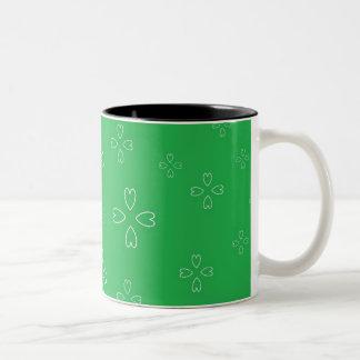 St. Patrick's Day Black 11 oz Two-Tone Mug