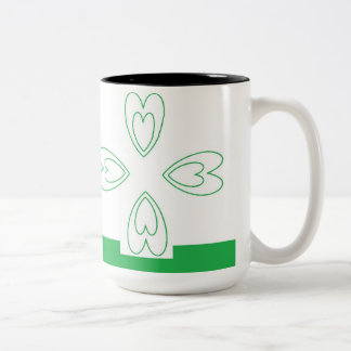 St. Patrick's Day  Black 15 oz Two-Tone Mug