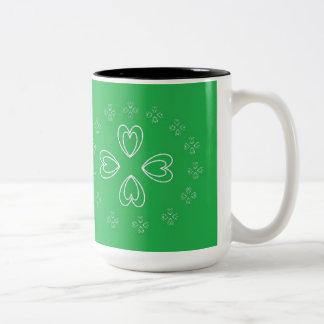 St. Patrick's Day  Black 15 oz Two-Tone Mug