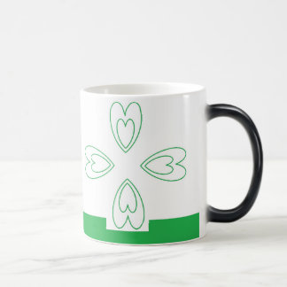 St. Patrick's Day  Black/White 11 oz Morphing Mug
