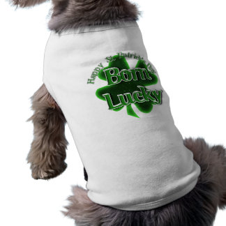 St. Patrick's Day Born Lucky Shirt