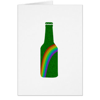 St. Patricks day - Bottle Card