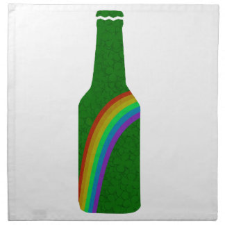 St. Patricks day - Bottle Napkin