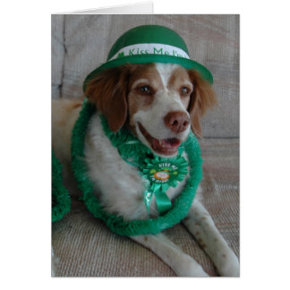 ST. PATRICKS DAY BRITTANY - Customized Card