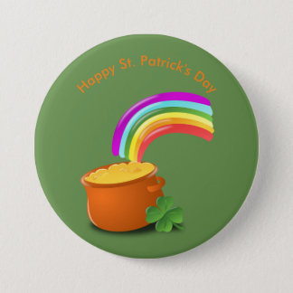 St. Patrick's Day Button