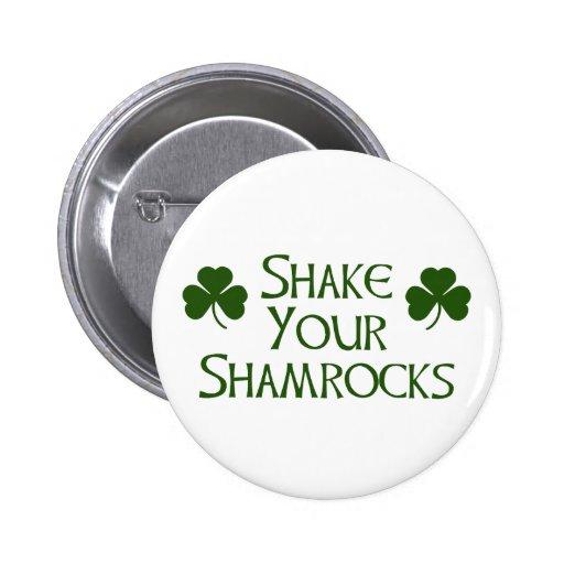 St. Patricks Day Pinback Buttons