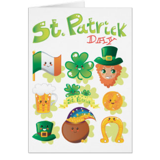 St. Patrick's Day Note Card