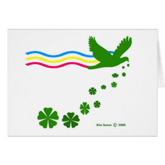 St. Patricks Day-Card Note Card