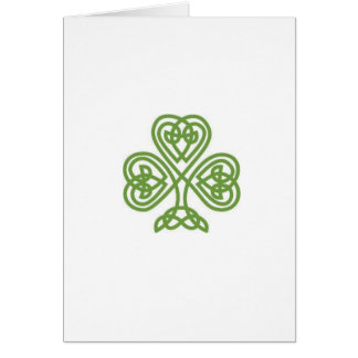 St. Patrick's Day Card with Sonnet