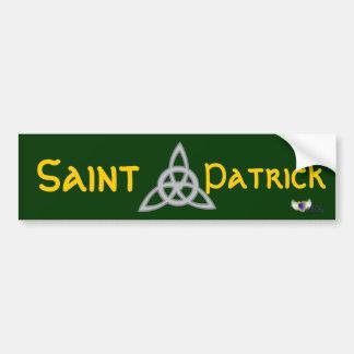 St. Patrick's Day Celebration  Bumper Sticker