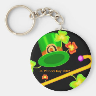 St. Patrick's Day Celebrations Keychain