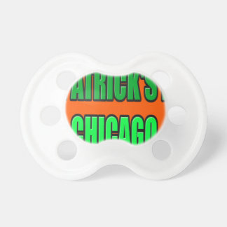 ST PATRICK'S DAY CHICAGO PACIFIER