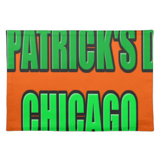 ST PATRICK'S DAY CHICAGO PLACEMAT