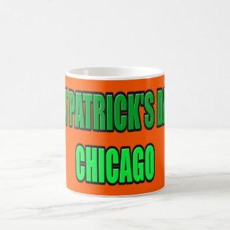 st patrick's day chicago White 11 oz Classic Mug