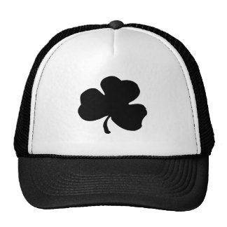 St. Patrick's Day Clover Mesh Hats