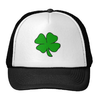 St. Patrick's Day Clover Hat Trucker Men Women