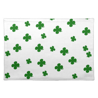 St. Patricks day clover pattern Placemat