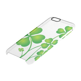 St. Patrick's Day Clover / Shamrocks + your ideas Clear iPhone 6/6S Case