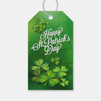 St Patrick's Day - Clovers/Shamrocks Gift Tags