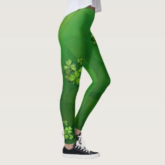 St Patrick's Day - Clovers/Shamrocks Leggings