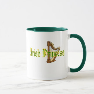 St Patricks day Coffee Mug Irish Princess