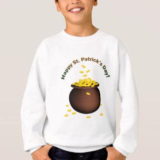 St patricks day coin pot sweatshirt