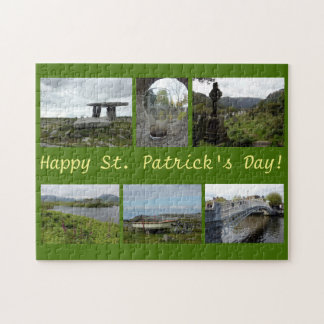 St. Patrick's Day Collage Jigsaw Puzzle